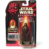 Star Wars Episode I: The Phantom Menace, Mace Windu (Jedi Cloak) Action Figure, 3.75 Inches