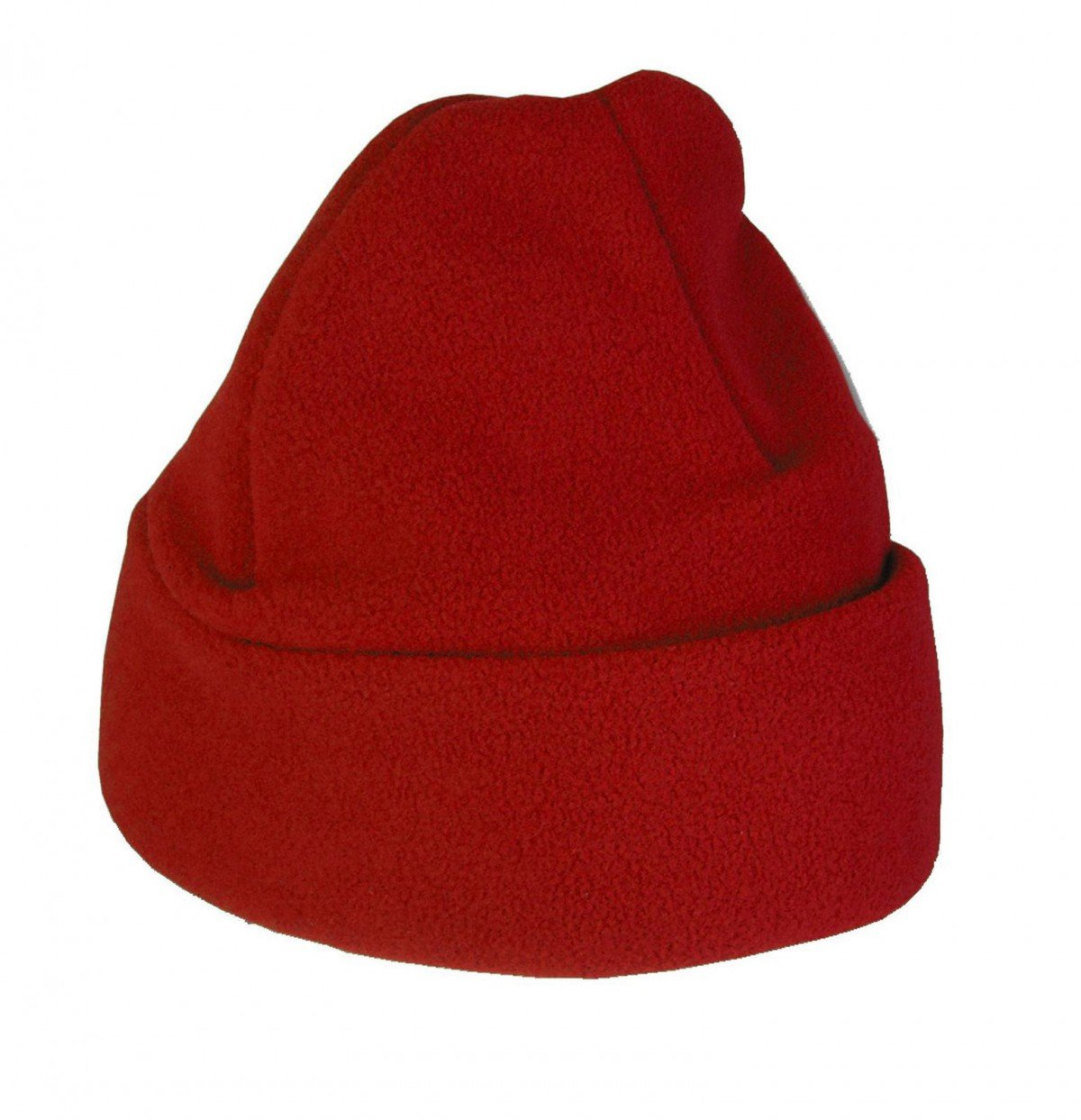 Childs Fleece Hat, Red Small