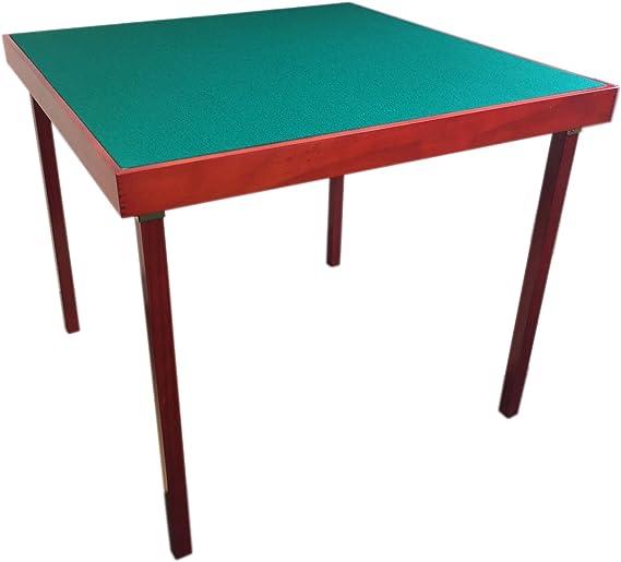 Mesa para jugar a las cartas o al bridge, plegable y portátil ...