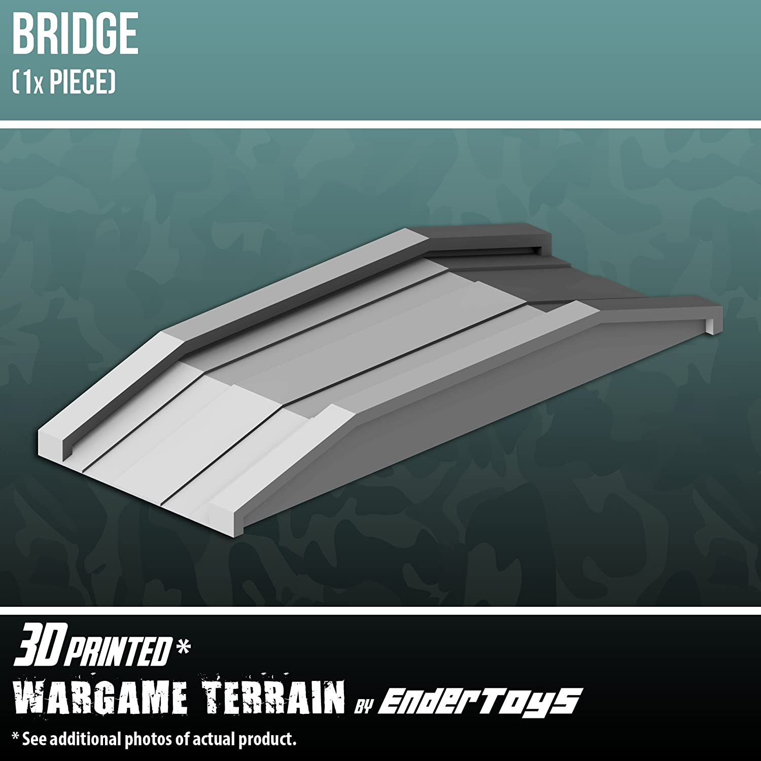 Bridge, Terrain Scenery for Tabletop 28mm Miniatures Wargame, 3D ...