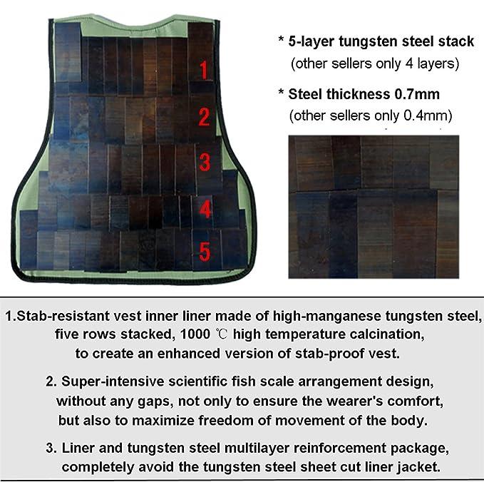 Sumac anti-puñalada parte frontal y trasera de patrones de costura ...