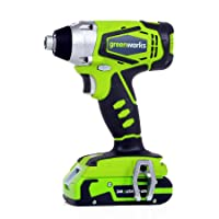 Deals on Greenworks 24V Cordless Impact Driver w/Battery 37032B
