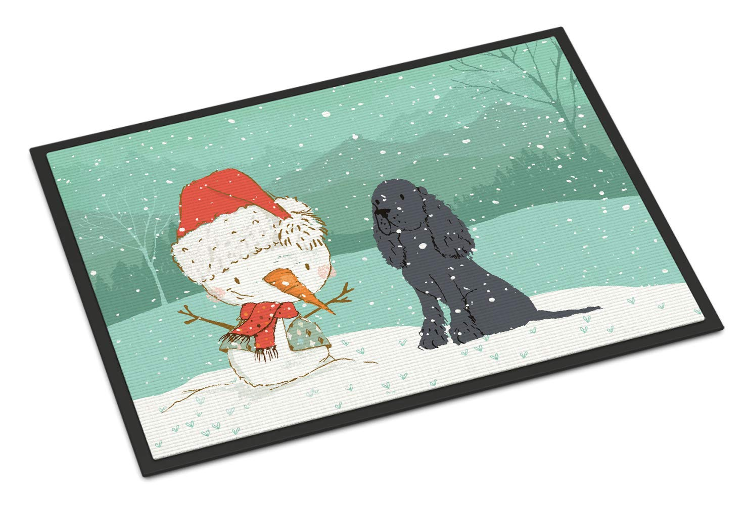 Carolines Treasures Welcome Friends Scottish Terrier Doormat 24hx36w Multicolor