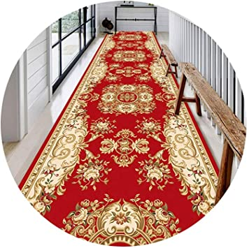 Runner Rug Carpet Runner Color : D, Size : 1.23m Kitchen Runner Rugs Runners Can Be Tailored to Size Custom-Made Kitchen Commercial Hotel Entry Door Corridor GFMING