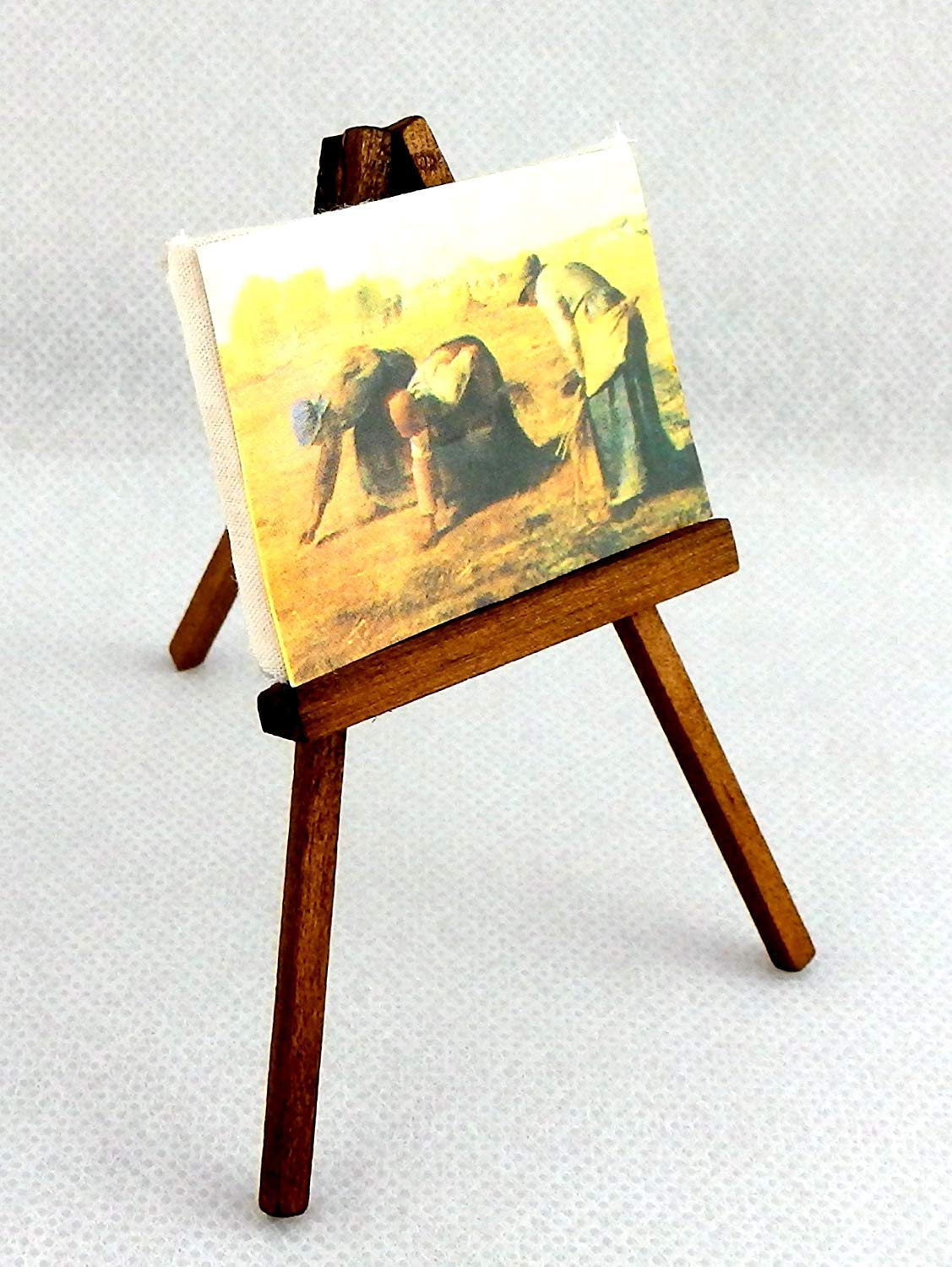Dolls House Miniature 1:12th Scale Wooden Painting Easel
