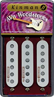 kinman wdstck + Set Pickup Woodstock Plus Set (3), conjunto de micros para