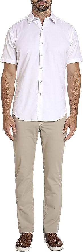 Details about  /Robert Graham Long Sleeve Navy Arcade Printed Pac-Man Stretch Shirt Mens L 4XL