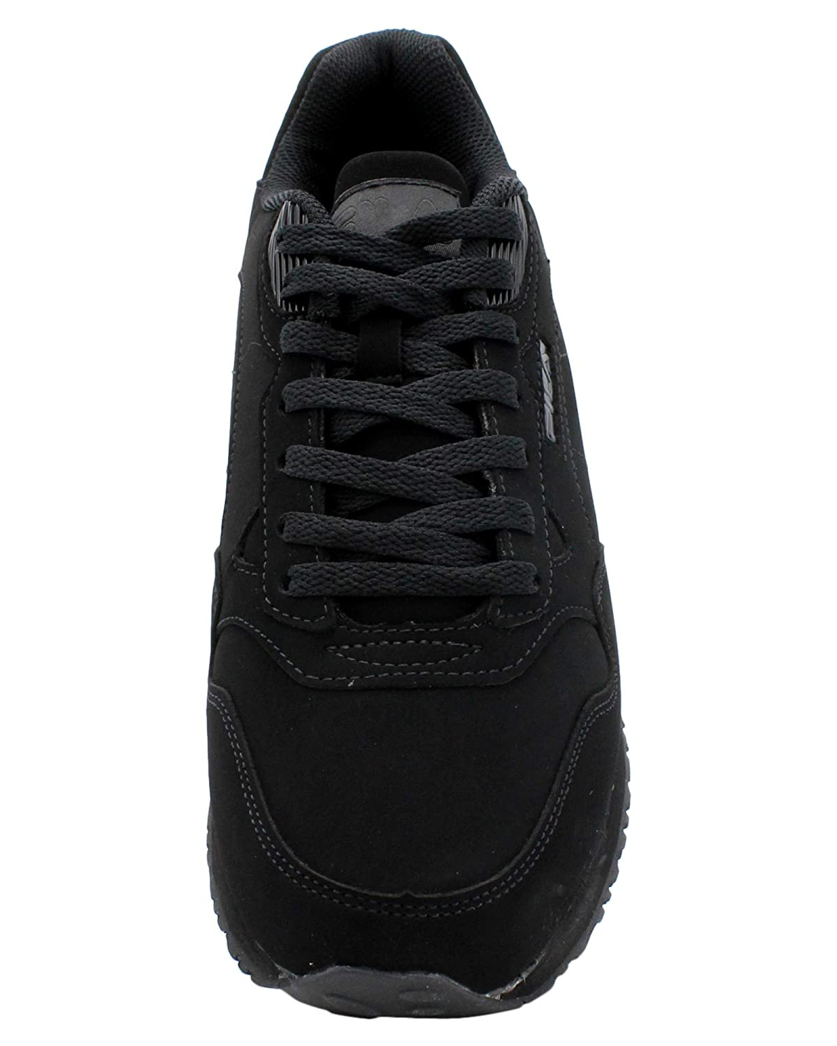 Fila Mens Cress Leather Textile Casual Sneakers