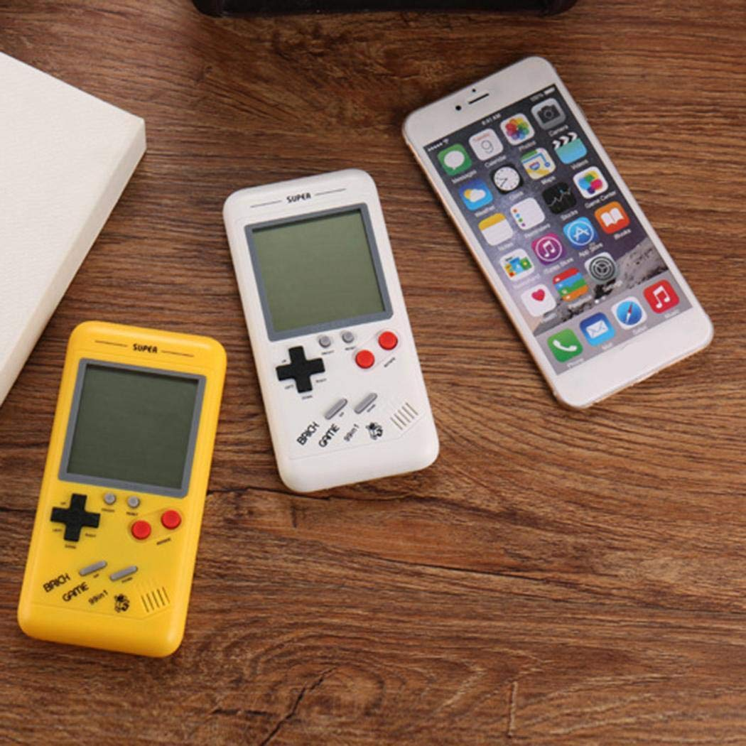 Youandmes Children Tetris Game Console, Portable Kids Game Handheld Toys by Youandmes (Image #4)