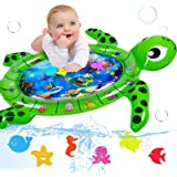 Infinno Tummy Time Mat Inflatable Baby Water Mat Baby Toys 3 6 9 12 Months for Infants Newborns and Toddlers Floor Activity P