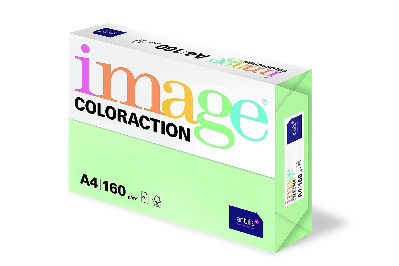 Ramette de 500 feuilles Image Coloraction Papier de couleur Bleu clair Lagoon 80 g//m/² A4
