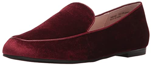 Chinese Laundry Women's Gabby Slip-on Loafer, Wine Velvet,  5.5 M US