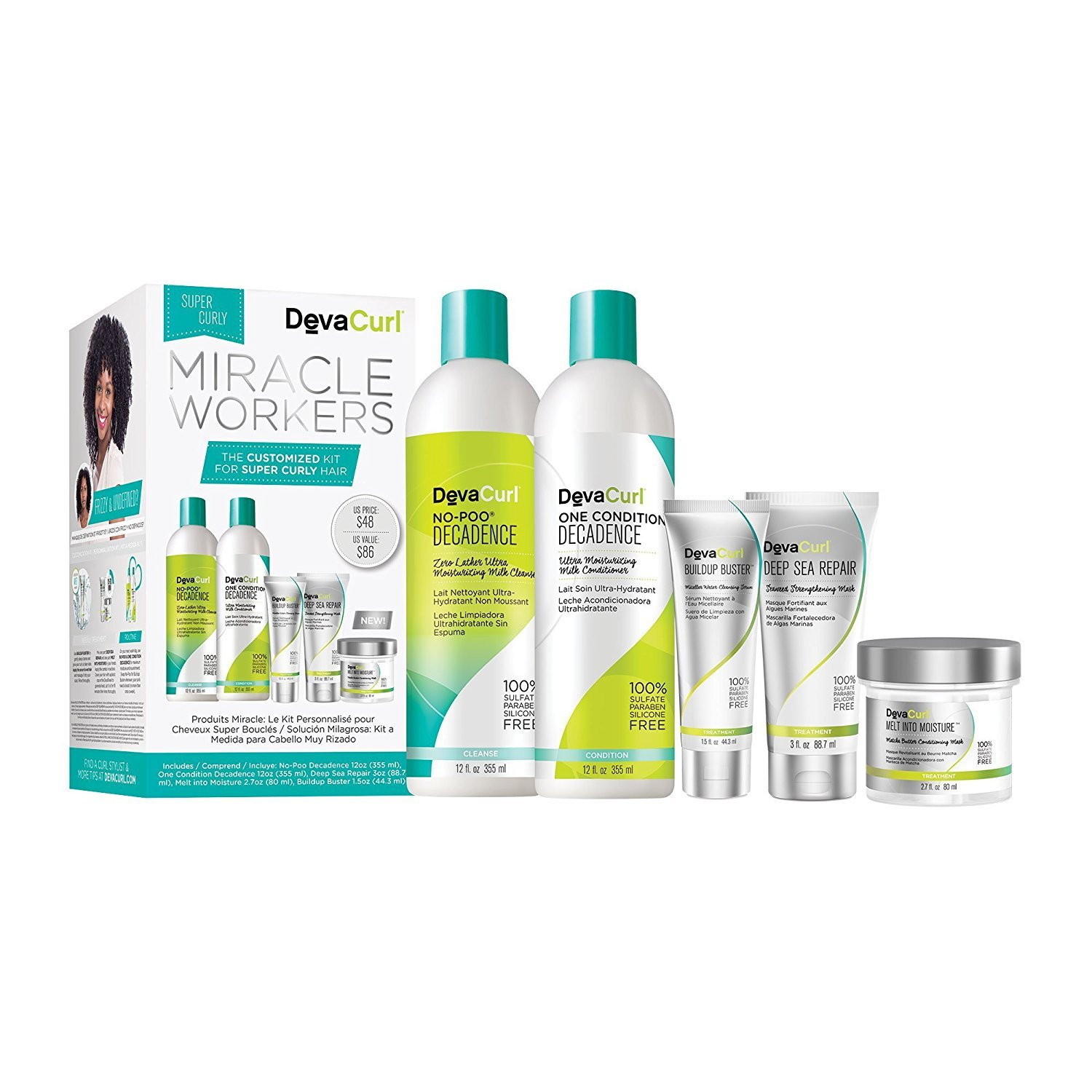 DevaCurl Miracle Workers: A Customized Kit for Super Curly Hair