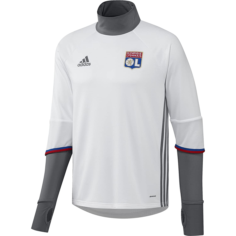 2016-2017 Olympique Lyon Adidas Training Top (White) B01GQ611EAWhite XL 44-46\