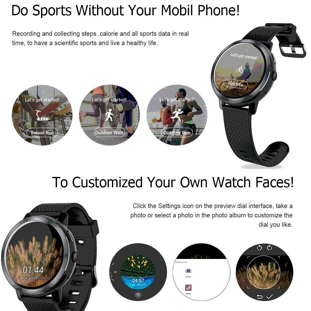 Fitness Tracker WiFi Reloj Inteligente, Monitor de Ritmo cardíaco ...