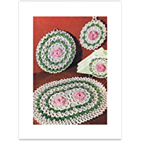 #2388 THE THREE WAYS DAISY VINTAGE CROCHET PATTERN