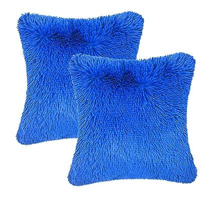 e5ccd03ebca8 Amazon.com  Throw it Super Fluffy Soft Cozy Silky Hand Feeling Plush ...