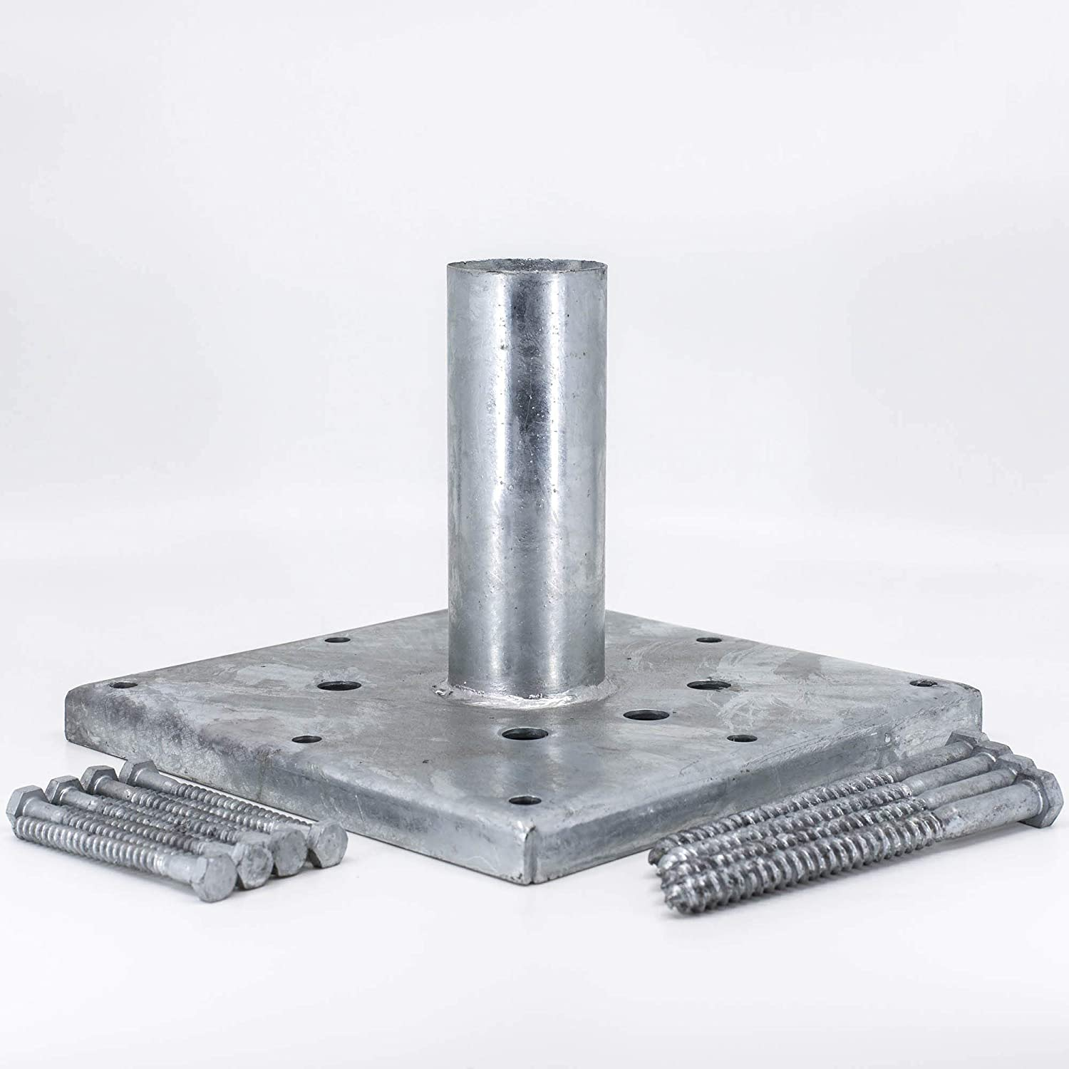 Titan Building Products - 6x6 Wood Post Anchor Kit- TIPRG661 - Galvanized -  5 5