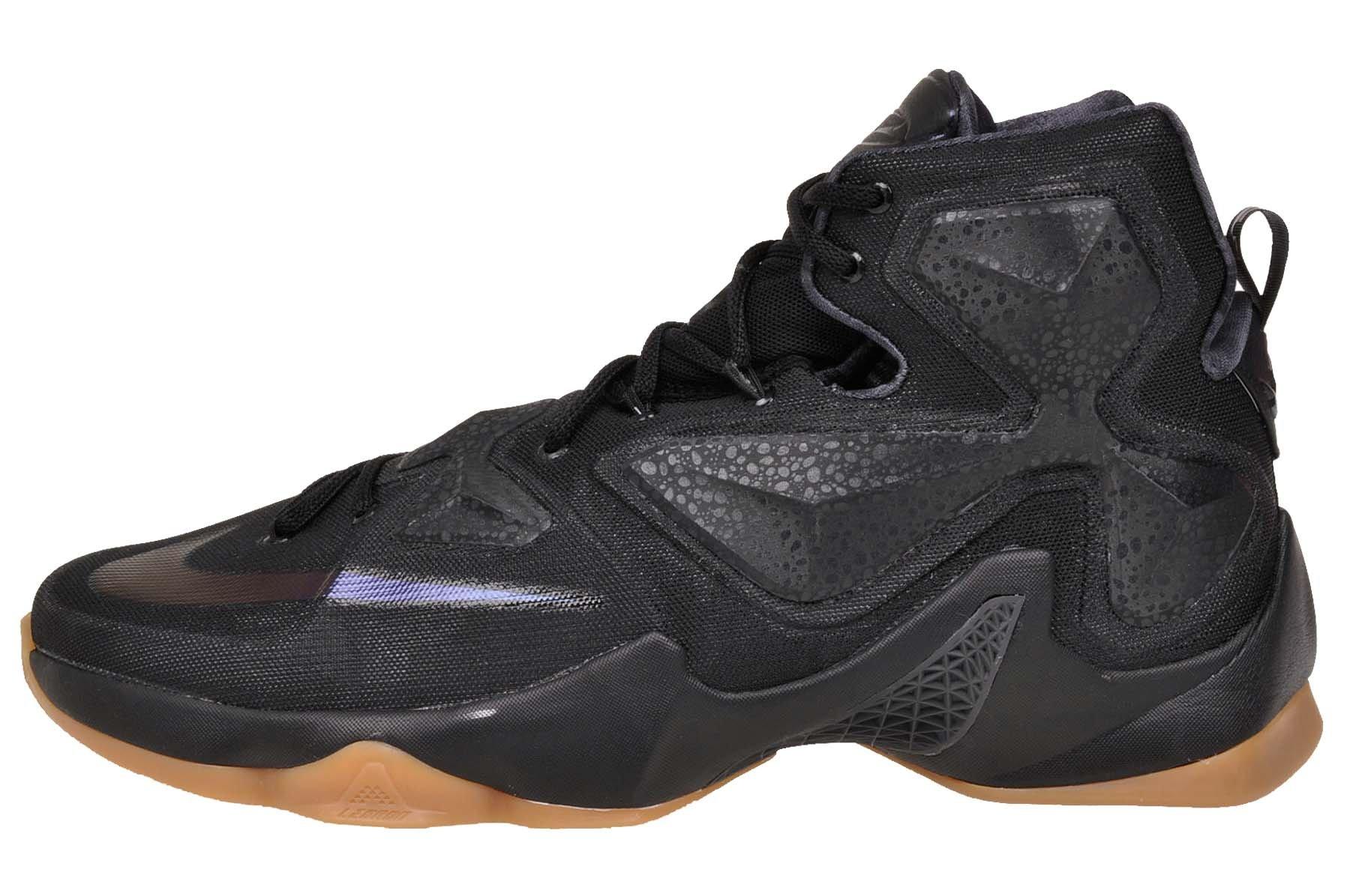 Nike Men's  Lebron XIII Black Basketball Shoe - 7.5 D(M) US