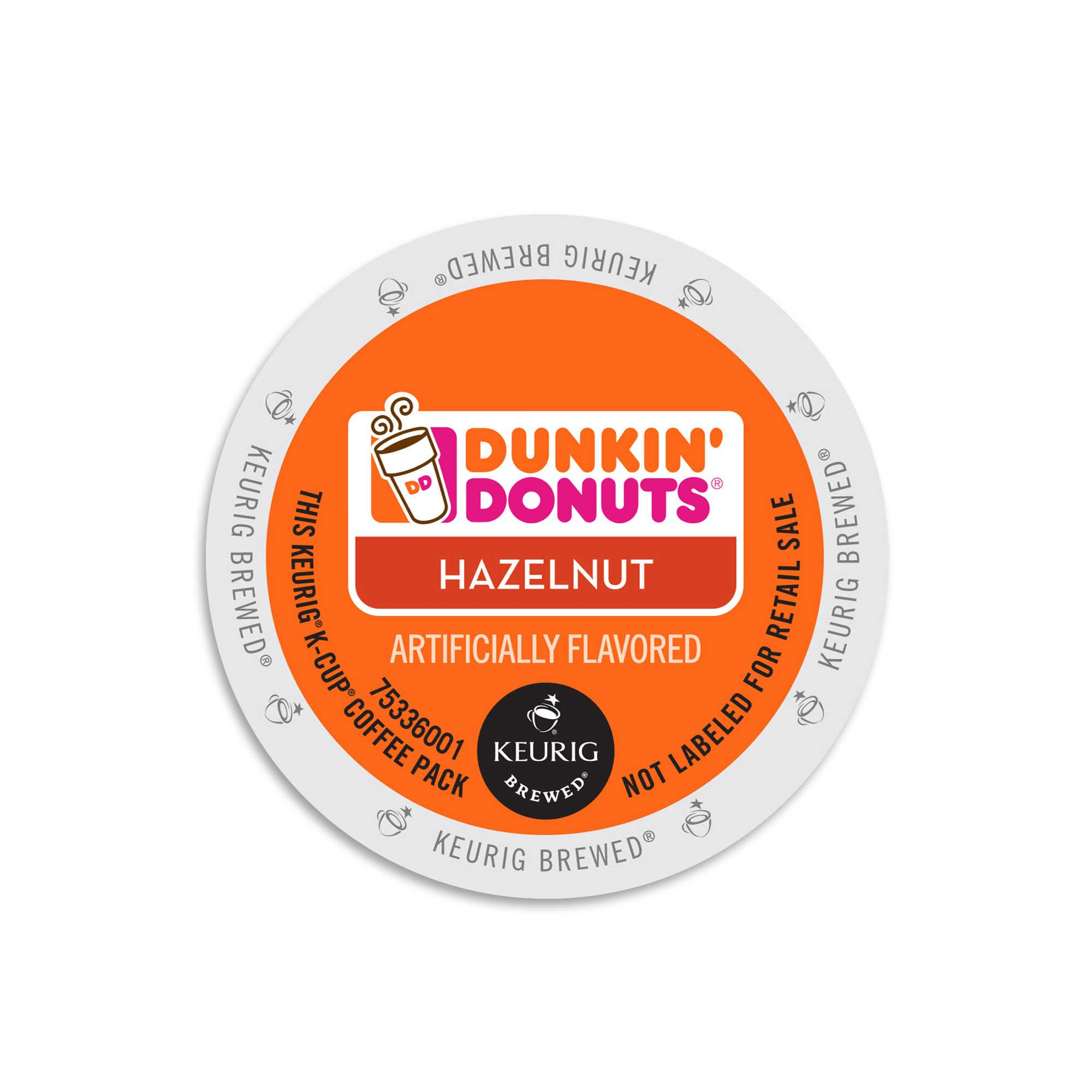 Dunkin Donuts Hazelnut, Flavored Coffee K-Cups For Keurig K Cup Brewers (96 Count) by Dunkin' Donuts
