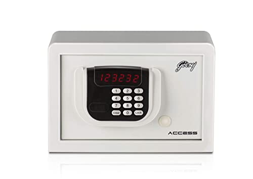 5. Godrej Security Solutions Access SEEC9060 Electronic Safe (8 Litre) (Ivory)