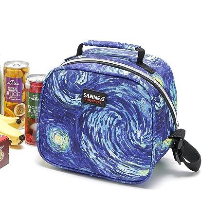 Bolsa isotérmica para el almuerzo Yvonnelee, bolsa aislante para ...