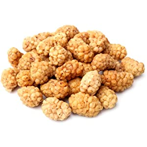 """Arashan Dried Mulberries – Pure Raw White Mulberry, The MOST Delicious Dry Mulberry In The World – Grown In The """"Mountains Of Heaven"""" (Tien Shan, KGZ)