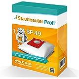10 Staubsaugerbeutel geeignet für Philips S-Bag, FC 8021/03, FC 8915/03, FC 8917/01 HomeHero, FC 8130/01, FC 8136/01 (SP49) von Staubbeutel-Profi® Made in Germany