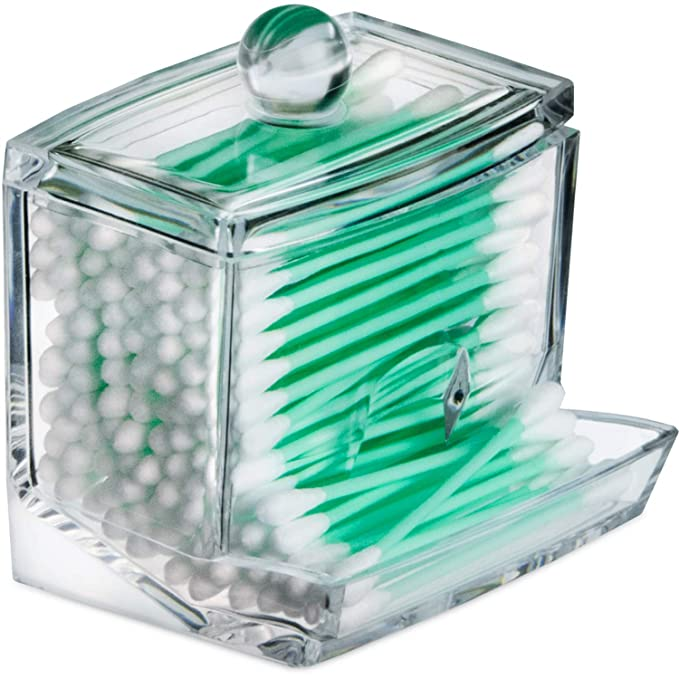 wattepads Cotton Swab Holder Dispenser Kovira pad retention