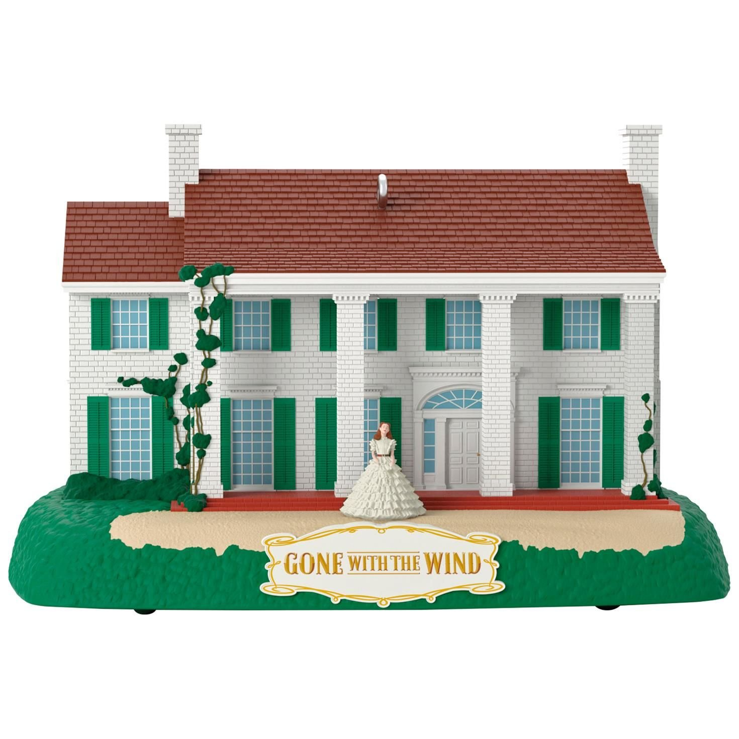 Gone With the Wind Tara Musical Ornament Movies & TV