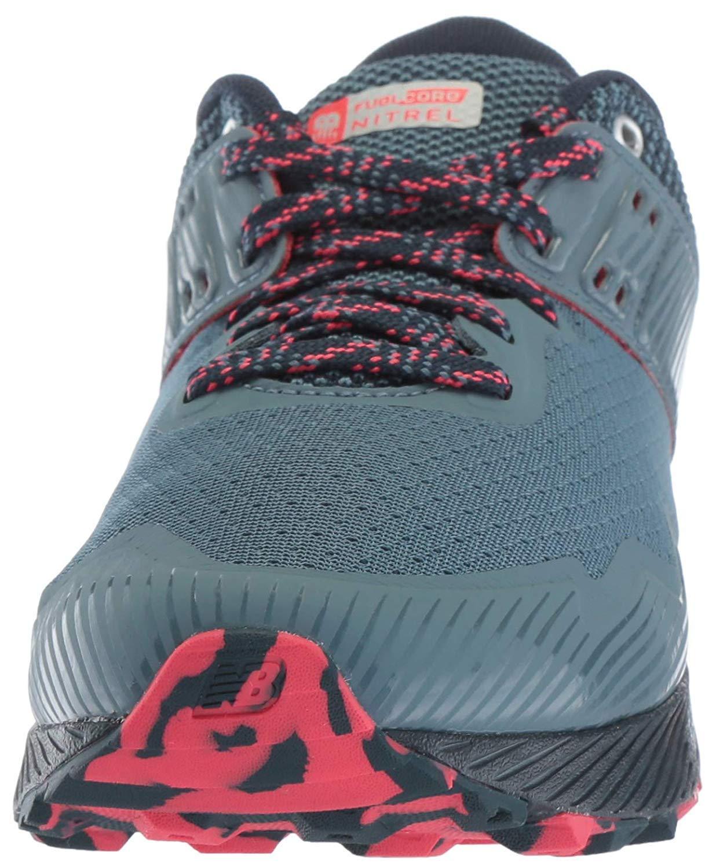 New Balance Women's Nitrel V2 FuelCore Trail Running Shoe, Light Petrol/Galaxy/Blossom, 5.5 B US by New Balance (Image #2)