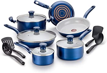 T-fal Thermo Spot Ceramic Cookware Set