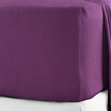 "100/% Brushed Cotton Flannelette 40CM//16/"" Extra Deep Fitted Sheets in 12 Colours"