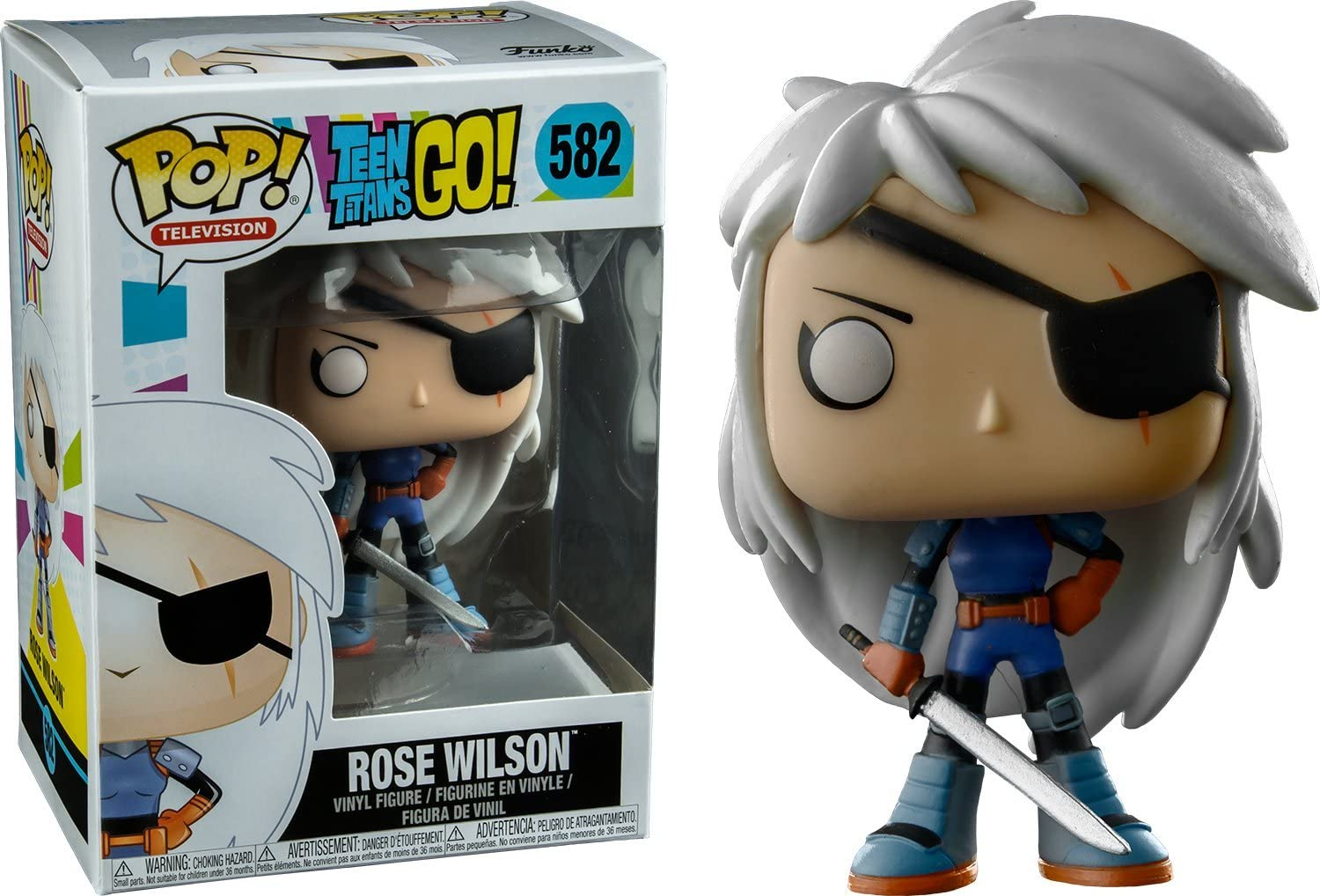 Figura Pop Teen Titans Go! Rose Wilson