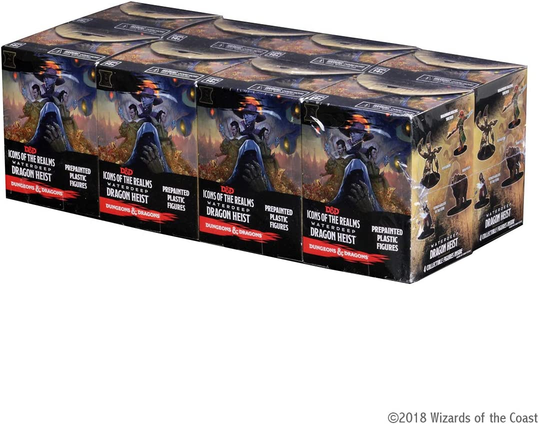 D&D Dungeons&Dragons Icons of The Realms Waterdeep Dragon Heist Booster Brick: Amazon.es: Juguetes y juegos