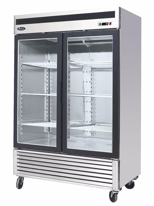 Superb Amazon.com: BRAND NEW COMMERCIAL 2 GLASS DOOR REFRIGERATOR.: Appliances