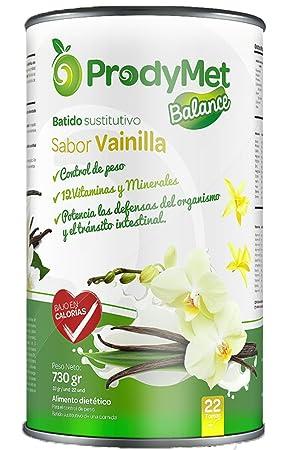 Batido Nutricional Sustitutivo Sabor Vainilla Prodymet ...