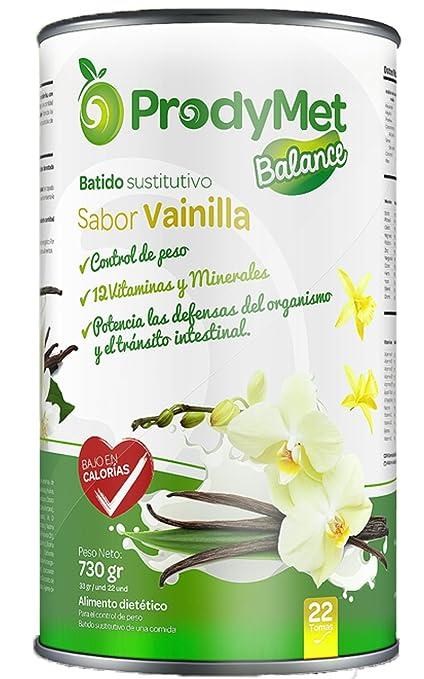 Batido Nutricional Sustitutivo Sabor Vainilla Prodymet Balance 730 gr.