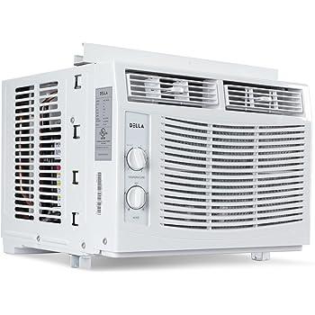 Amazon Com Della 5 000 Btu Window Mounted Air Conditioner