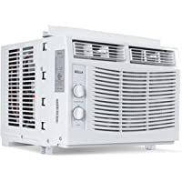 DELLA 5000 BTU Window Mounted Air Conditioner Easy Dial AC Cool 115 Volt Speed Fan 150 SQ FT Energy Saving Window Kit