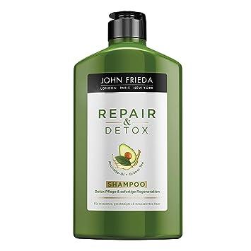 John Frieda Repair Detox Shampoo Mit Avocado öl Und Grüntee