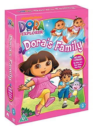 Dora The Explorer: DoraS Family Triple Pack Edizione: Regno Unito Reino Unido DVD: Amazon.es: Dora the Explorer-Dora S Famil: Cine y Series TV