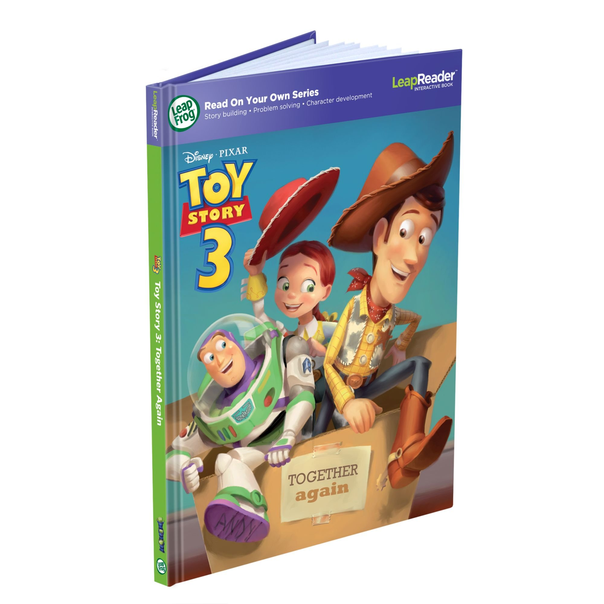 LeapFrog LeapReader Book: Disney Pixar Toy Story 3: Together Again (works with Tag) Packaging May Vary by LeapFrog (Image #1)