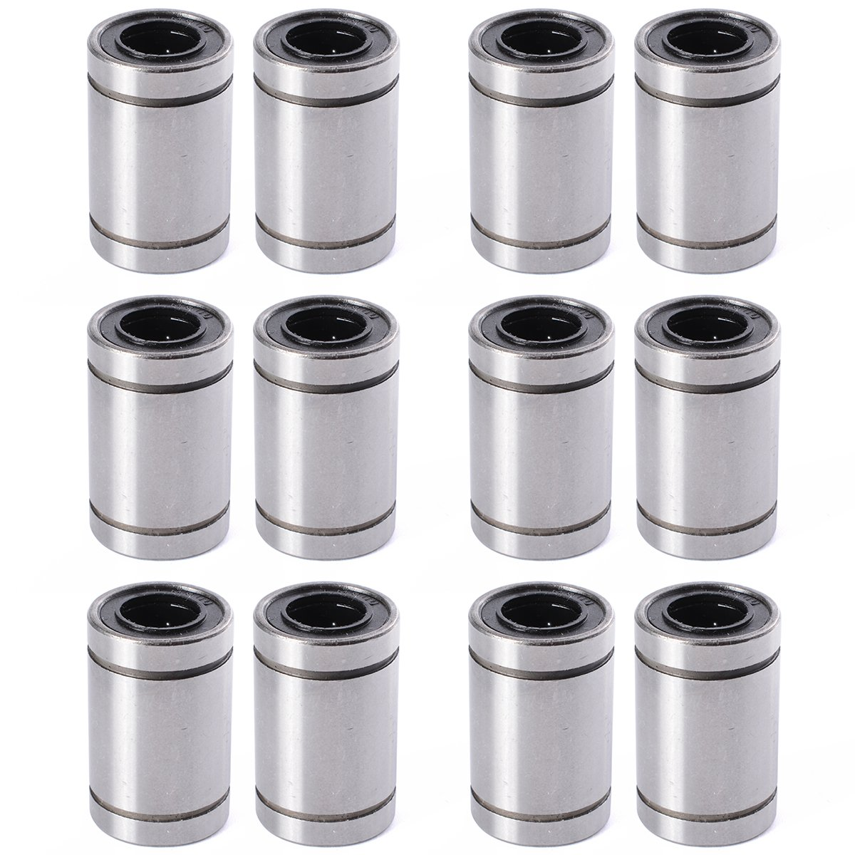 XCSOURCE 12PCS Linear Bearings LM8UU 8MM *15*24 RepRap 3D Printer Prusa Mendel CNC TE249