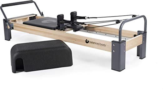balanced body Rialto Pilates Reformer, Pilates Equipment for Home Workouts