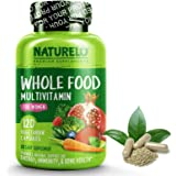 NATURELO Whole Food Multivitamin for Women - Natural Vitamins, Minerals, Raw Organic Extracts - Best Supplement for…