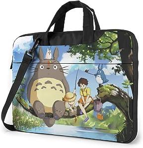 Laptop Bag My Neighbor Totoro Cartoon Theme Fanart Tablet Briefcase Ultra Protective Case