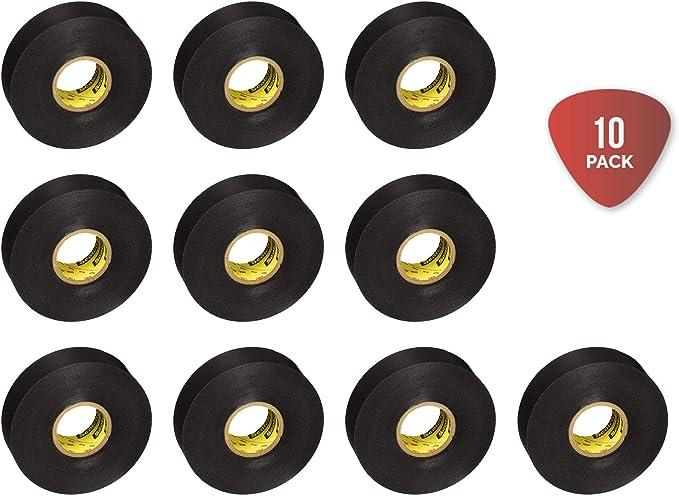 Vinyl Electrical Tape 6132-BA-10 3//4 in x 66 ft x 0.007 in Scotch Super 33
