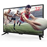 "SANSUI TV LED Electronics Televisions 32"" 720p TV with Flat Screen TV, HDMI Cable PCA Input High Definition and Widescreen Monitor Display 2 HDMI (2018 Model)"