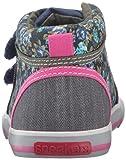 See Kai Run Girls' Kya Sneaker, Navy/Purple, 13 M